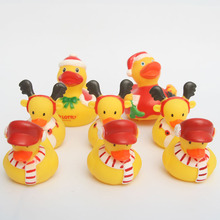 8pcs Christmas series duck big and Little safe non-tioxic materials It can be a birthday gift for child