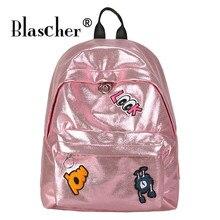 Blascher сладкий знак рюкзак женский плечо дорожная сумка Письмо печати Для женщин сумка старшеклассников школьный SCW18