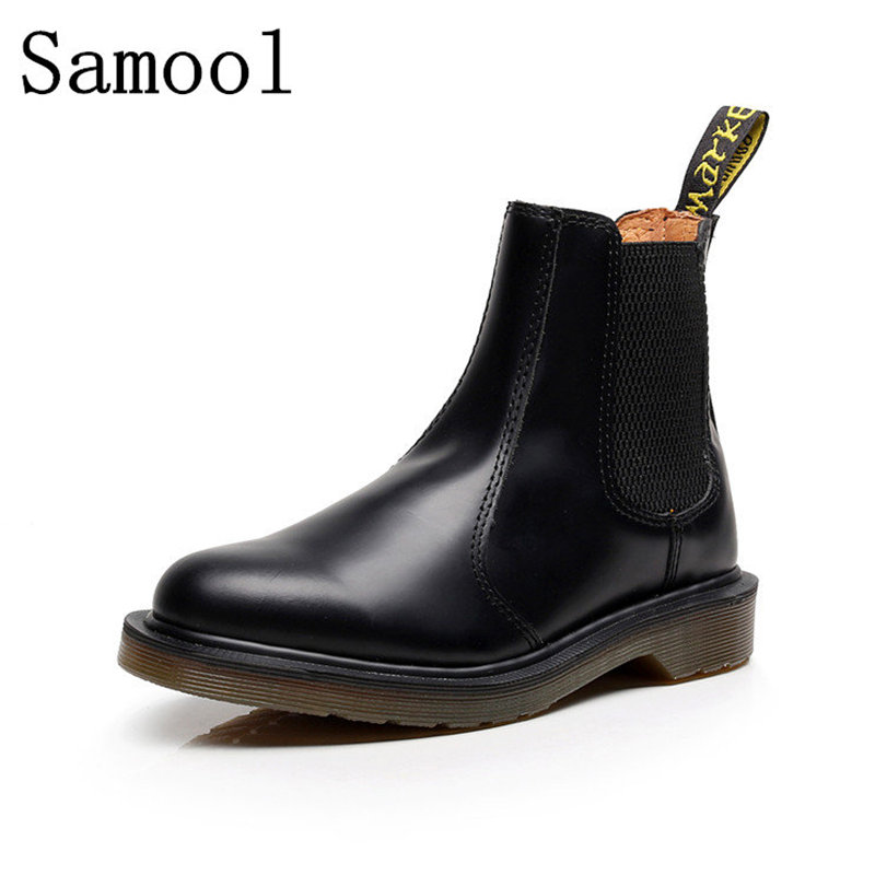 2017 New Women Rubber Winter Boots Ankle Women Shoes Cow Leather Waterproof Boots Elastic Band Chelsea Shoes Wedding Shoes 15 elastic band women genuine leather ankle boots chelsea hand made shoes motorcycle coincise fashion black matte women s boots