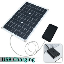 Portable Waterproof Durable Solar Panel with Car Charger