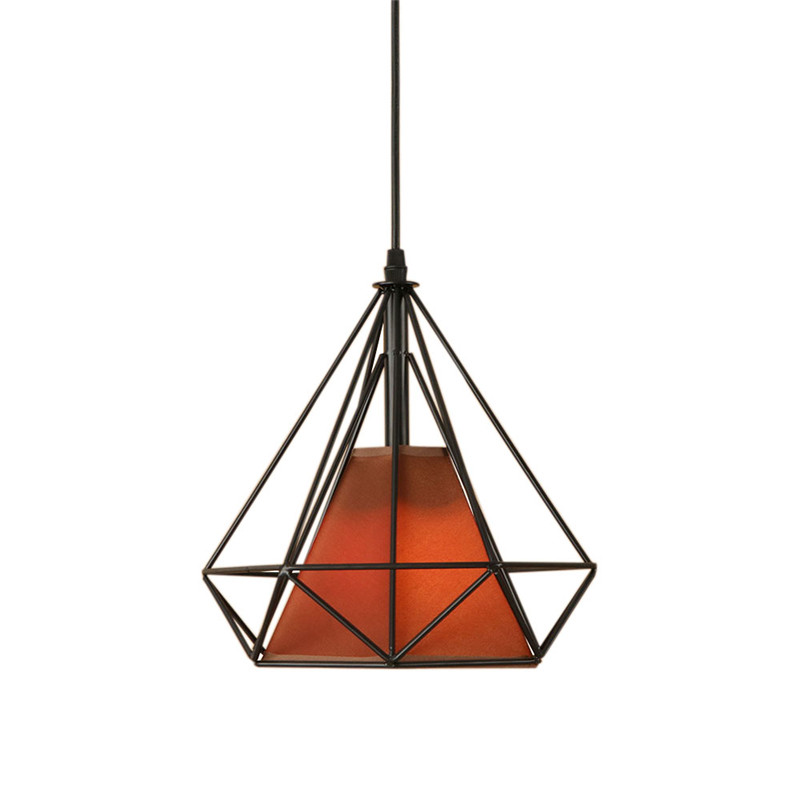 American Loft Style Iron Cloth Droplight Vintage LED Pendant Light Fixtures For Dining Room Retro Hanging Lamp Indoor Lighting retro loft style rope bamboo droplight creative iron vintage pendant light fixtures dining room led hanging lamp home lighting