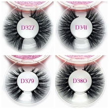 Private Label Custom Package Mink Eyelashes 3d Mink Lashes 20MM Real Mink Lashes Makeup Use Lash 3d