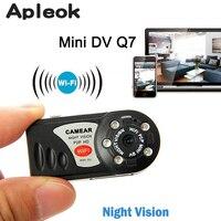 Mini Q7 Camera Wifi DVR Wireless Camcorder Video Recorder DV Infrared Night Vision Motion Detection Camera