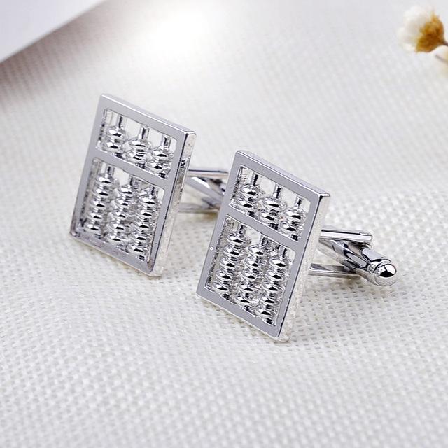 Silver Wedding Cufflinks