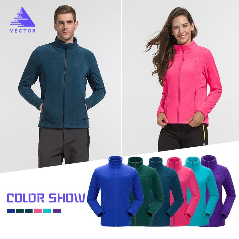 VECTOR Outdoor Jacket Women Warm Winter 100% Polyester Bodkin Fleece Camping Hiking Jackets Thermal Mountaineering Travel Coat