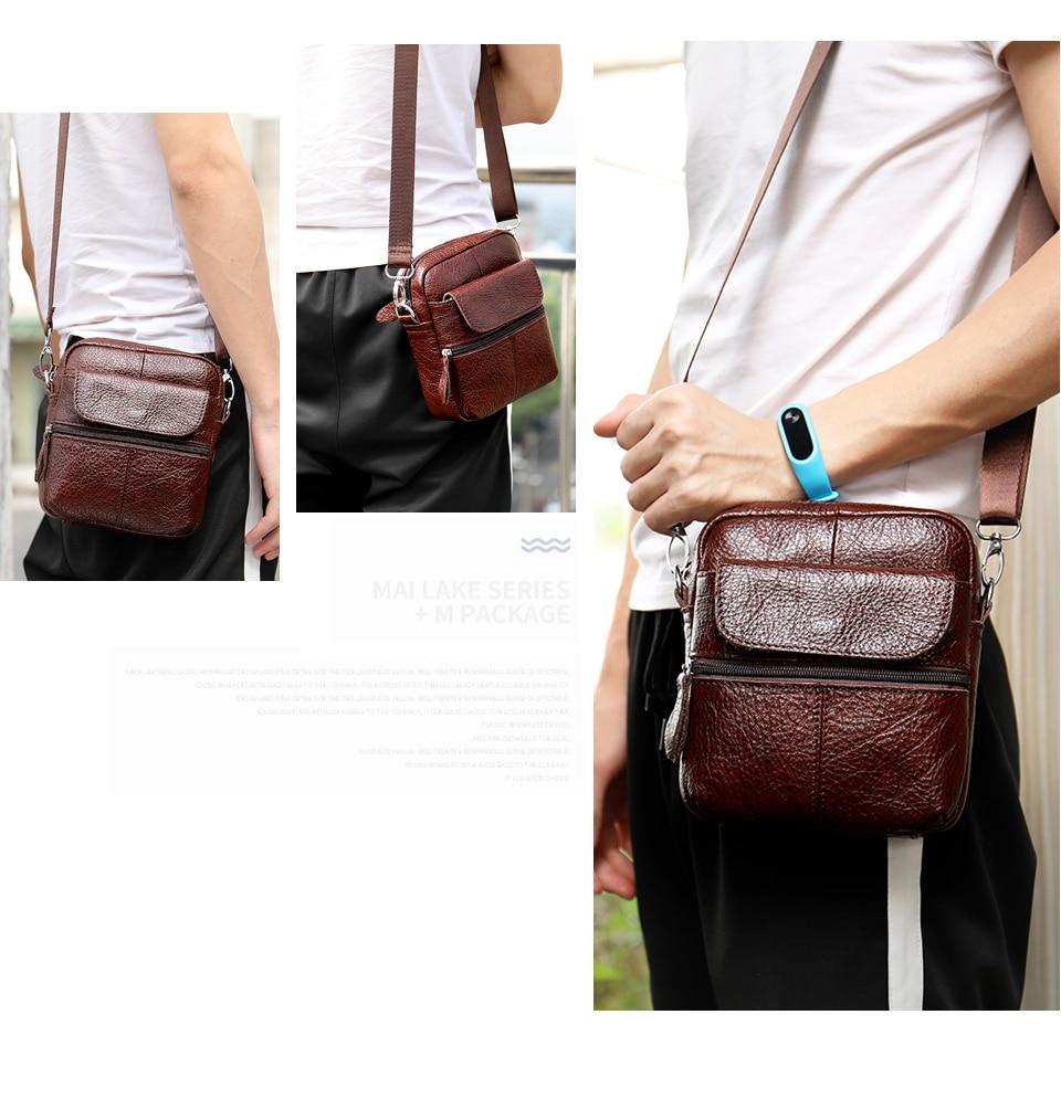 3 genuine leather bag