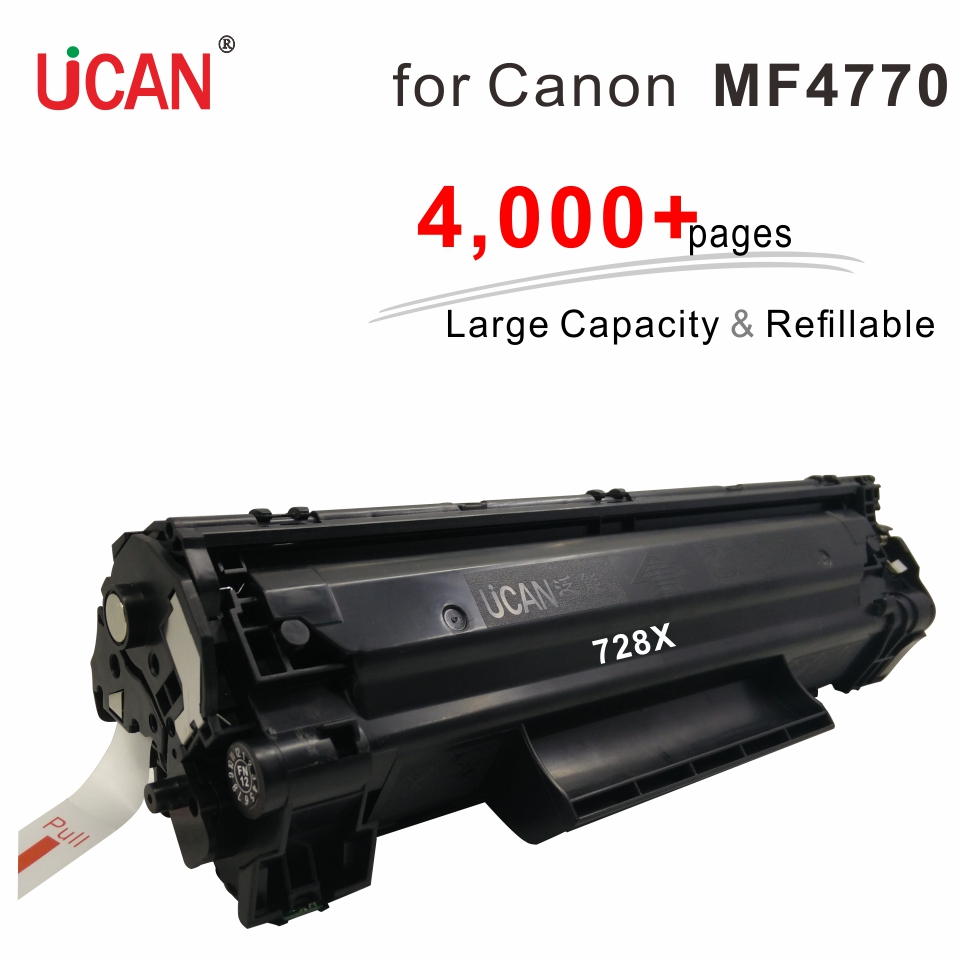 for Canon MF4752 MF4752G MF4770n MF4780w Printer 328 728 Cartridge UCAN 4,000+ pages Large Capacity Refillable Toner Cartridges for canon d570 printer cartridge 737 337 137 ucan 737ar kit 12 000 pages