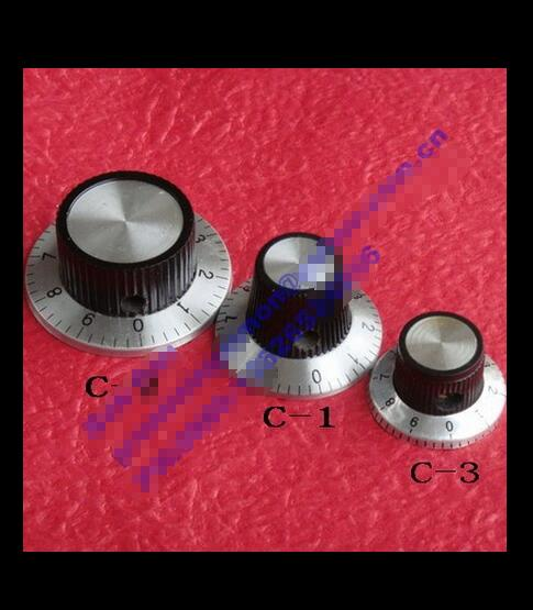 Potentiometer, Knob, Dial Dial, Aluminium Knob, Digital Knob, 37MMX 15MM, High 6.0MM Inner Diameter