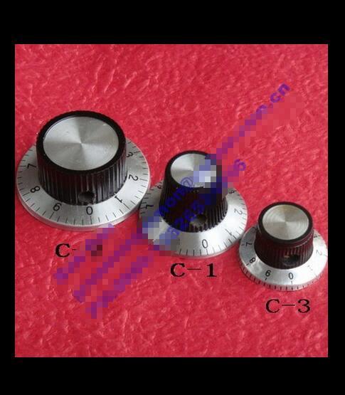 Potentiometer, Knob, Dial Dial, Aluminium Knob, Digital Knob, 37MMX 15MM, High 6.0MM Inner Diameter