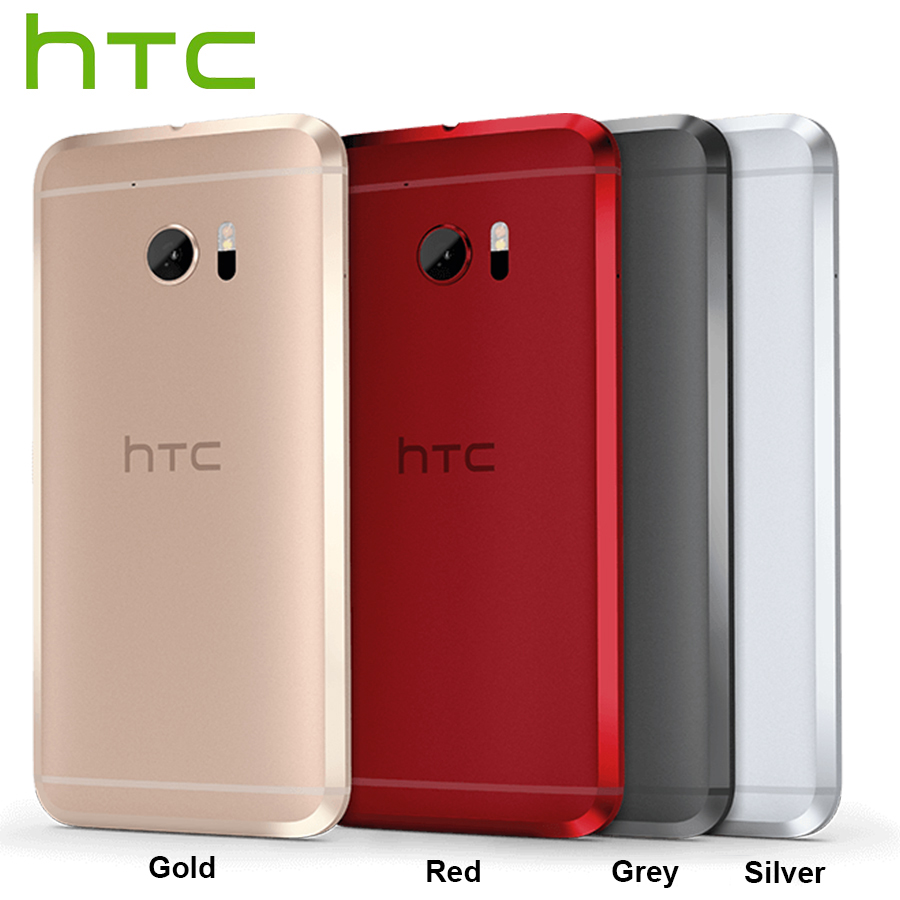 T-Mobile Versão HTC 10 LTE 5.2 Telefone Móvel 32 4 gb RAM gb ROM Snapdragon 820 Quad núcleo 12MP Câmera NFC Impressão Digital Smartphone