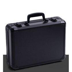 Aluminium legierung toolbox instrument box koffer Auswirkungen beständig sicherheit fall ausrüstung kamera fall mit pre-cut schaum schindel