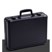Aluminum alloy toolbox instrument box suitcase Impact resistant safety case equipment camera case with pre cut foam clapboard