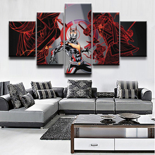 Top-Rated Canvas Print 5 Pieces Batman Beyond Abstract Paintings Modern Poster Home Decor Wall Art Modular Pictures Framework