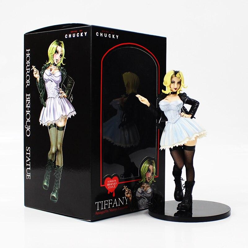 21cm kotobukiya Bride of Chucky PVC Action Figure Statue Model Toys Collectible Model Toy Good Guys Horror Doll цена 2017