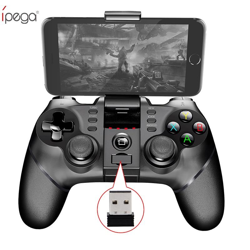 2pcs lot PG9076 Ipega 9076 PG 9076 Batman Gaming font b Gamepad b font Bluetooth Wireless