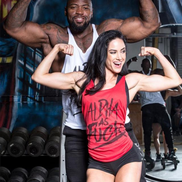 Men Tank Top Thin Strap Fitness Men  Body Bodybuilding Stringer Singlets Suit T-shirt Cotton Shirt