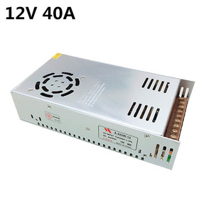Image 2 - Single Output Switching power supply 12V 40A 480W Transformer 220V AC To DC 12 V SMPS For Electronics Led Strip Display
