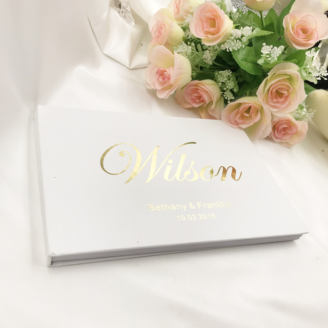 Personalized Wedding Guest Book.Aliexpress Com Buy Custom A5 Name And Date Wedding Guest Book Personalized Wedding Guestbook Wedding Album Gift For Couple Rustic Wedding Gift