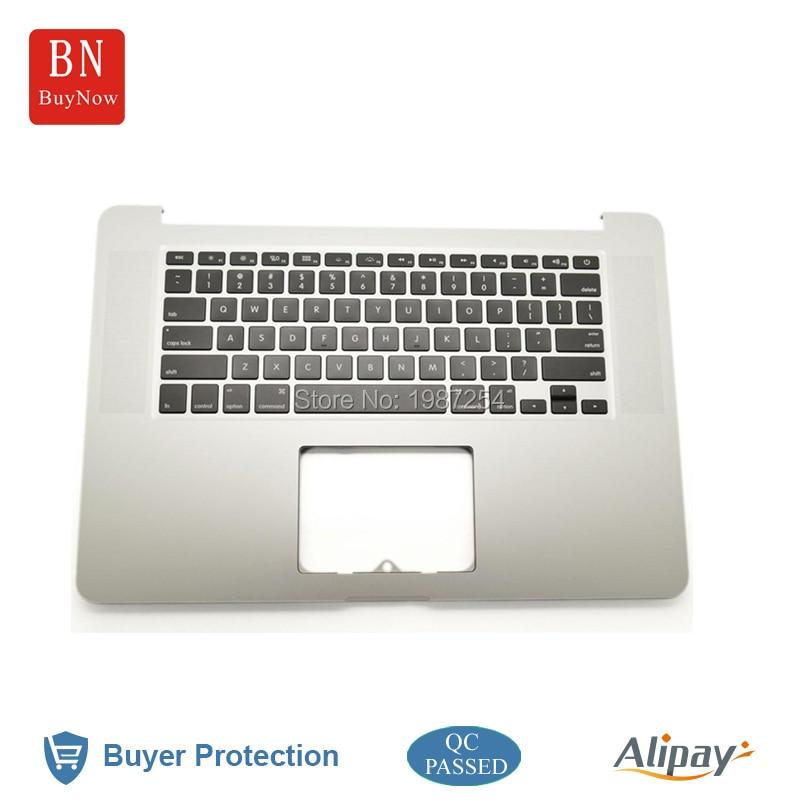 ФОТО Original New For Apple Macbook Pro Retina 15'' A1398 Top Case Palmrest With Keyboard US Version 2012 MC975 MC976