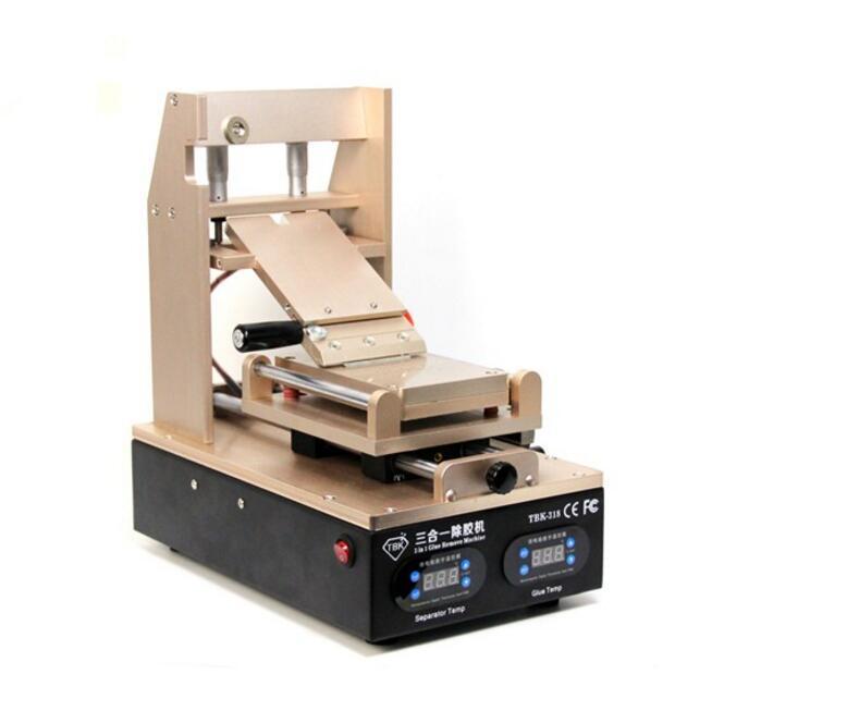 2 en 1 TBK 318 LCD UV Eliminador de pegamento Panel de pantalla - Juegos de herramientas - foto 3