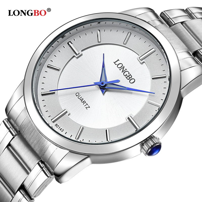LONGBO 2018 Fashion Women Watches Top Brand Luxury Stainless Steel Band Ladies Quartz Wrist Watch Female Clock Relogio Feminino top quality women s exquisite commercial watches quartz clock white black ceramic watch lady new longbo brand gift wrist watches
