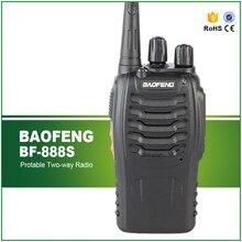 New Walkie Talkie 16 Channels Handie Talkie Walike UHF Two-way Radio BAOFENG BF-888S Radio Transmitter bf 888s