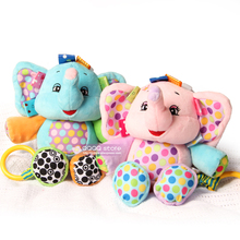 Baby Soft Toys Musical Plush Stuffed Animals Educational Toys For Children Stroller Hanging Toy