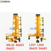 ZONBEMA High quality Power On/Off Volume Button Switch Microphone Vibrator flex Cable Ribbon For Sony Xperia Z3 3G 4G-in Mobile Phone Flex Cables from Cellphones & Telecommunications on Aliexpress.com | Alibaba Group