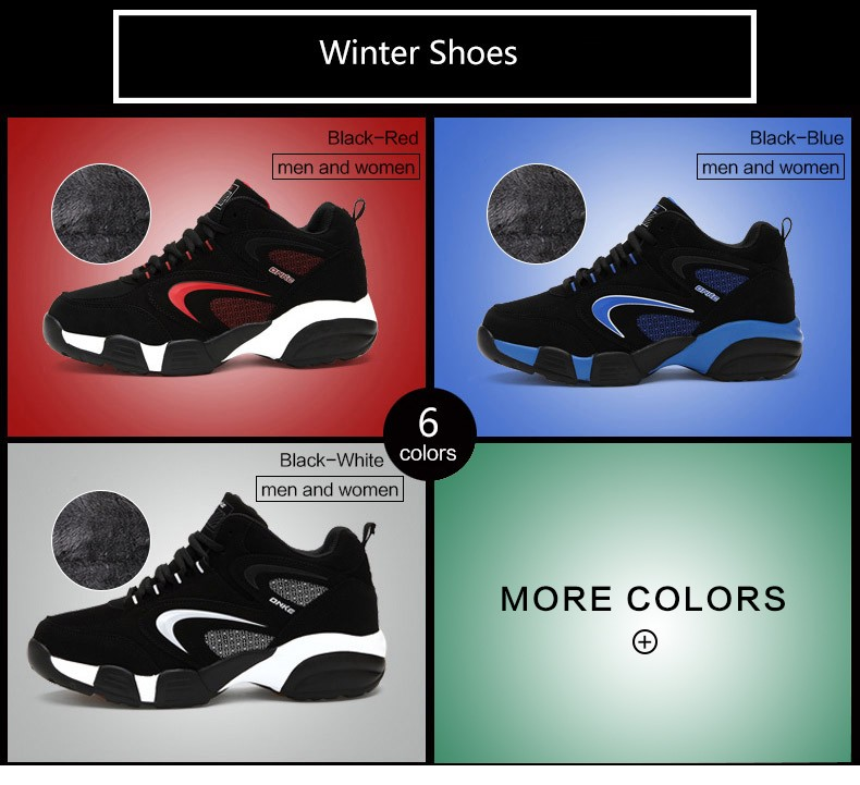 Onke Winter Sneaker Boots Men Running Shoes Outdoor Women Sports Snow Shoe Waterproof Sneakers for Male Warm Fur Zapatillas 692 4