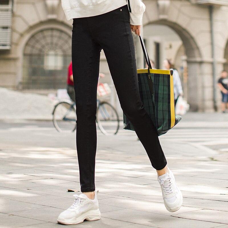 INMAN 2018 automne nouveauté Skinny femmes mode confortable crayon Jeans pantalon