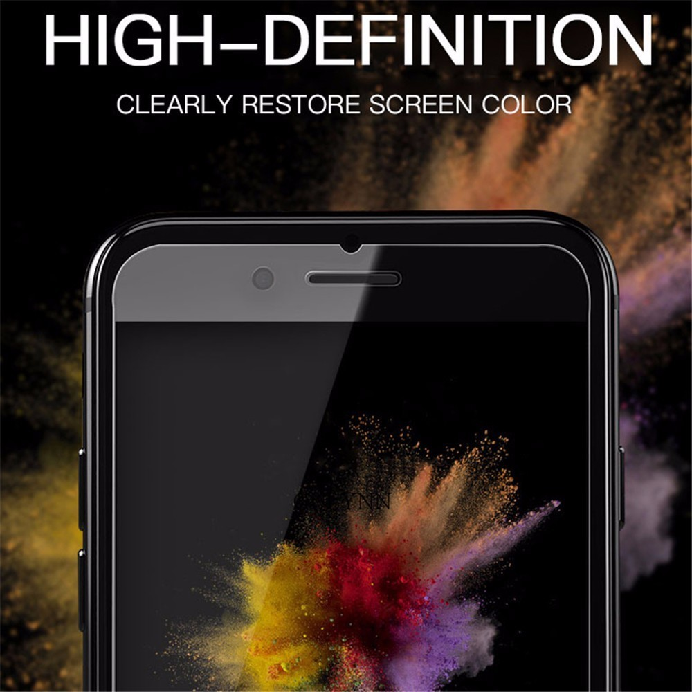 9H Glass on iphone 7 Screen Protector Film for iPhone 6 7 8 Plus Tempered Glass for iPhone X XS XR XS MAX 5 5s 5c SE 4 4s Cover in Phone Screen Protectors from Cellphones Telecommunications