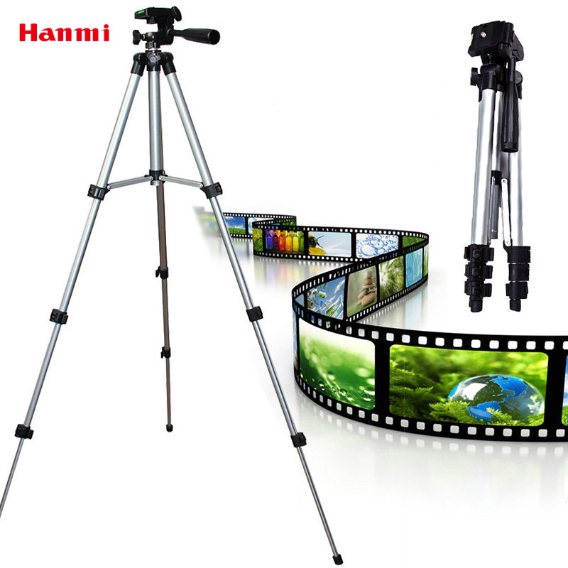 Free Shipping Universal Hight Quality For Gopro Tripod 4 Sections Portable Tripod for Canon Sony Nikon