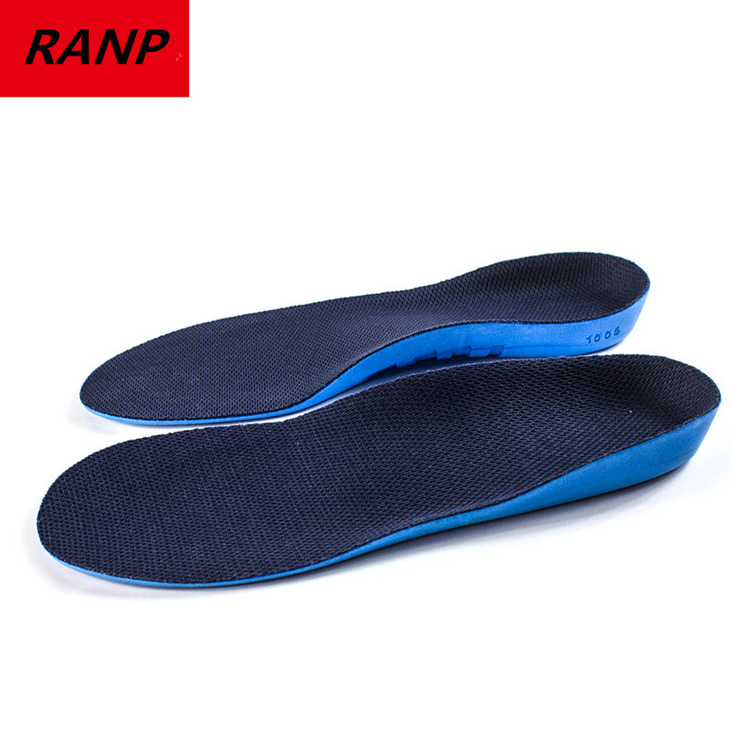 RANP Dropshipping Breathable Comfortable Orthopedic Orthotic Arch Support Memory Sole Flat Foot Correct Shoe Pad Insert Insoles