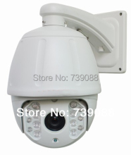 Onvif supported HD 960P 1.3 Megapixel 18X optical zoom IP PTZ camera speed dome camera with 100m IR distance