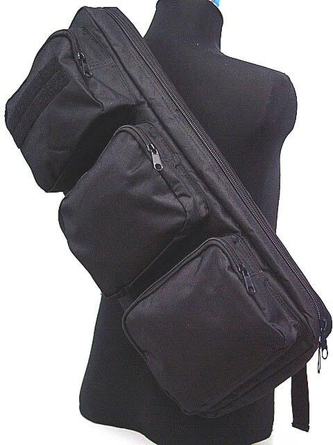 New Tactical 24 Rifle Gear Shoulder MP5 Sling Bag Backpack Black