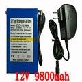 12V/11 1 V литий-ионный аккумулятор Емкость 12V 98000mAh перезаряжаемая литий-ионная батарея уличные фонари оборудование светодиодный свет в режиме ...