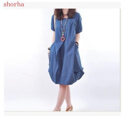 09f38a9b3ca Summer Maternity Dresses Round neck cotton short sleeve Pregnant Women  Nursing Clothes Short Sleeve Breast Feeding Dress Materni