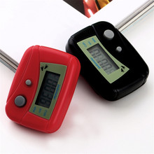 1 pcs Red Mini LCD Pedometer Calorie Walking Distance Calculation Digital Counter Hot Sale