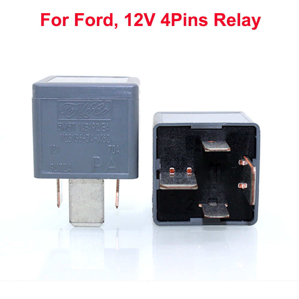 1pc 12v Dc 70a Automotive Electromagnetic Normally Open
