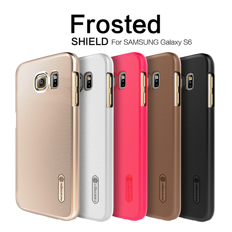 best website f5439 92f20 US $5.0 |Original Nillkin Frosted Shield Case for Samsung Galaxy S6 SM G920  Premium Matte Hard Plastic Back Cover Capa in Retail Packing on ...