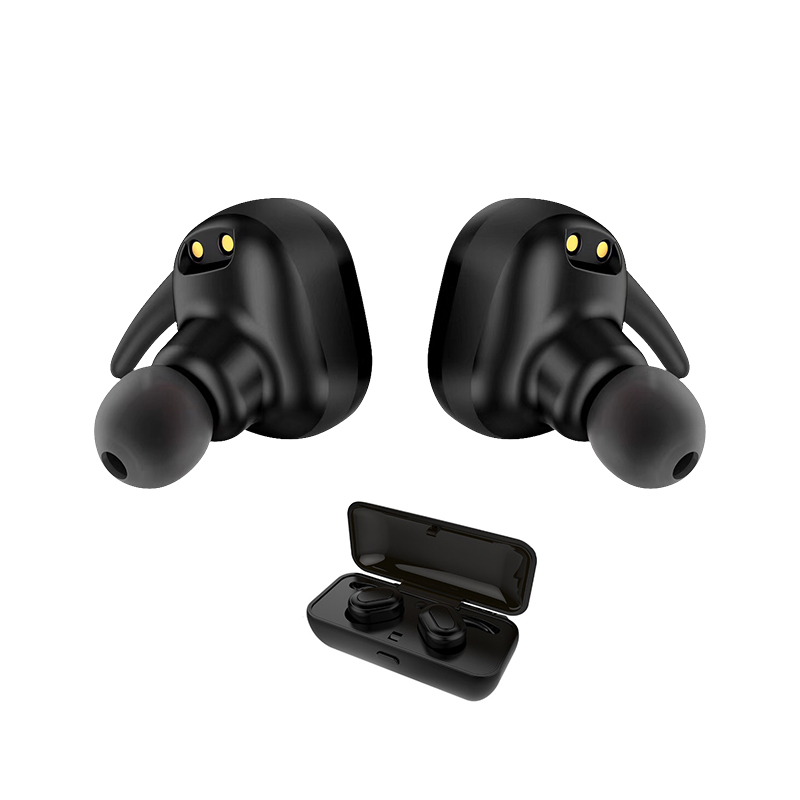 New Style Mini Wireless Headphones Bluetooth  Earbuds Headset Sweat Proof TWINS Earphone with charging box for Iphone Xiaomi new k6 bluetooth headset earphone voice command auto answers for iphone android busiess bluetooth headphones with storage box