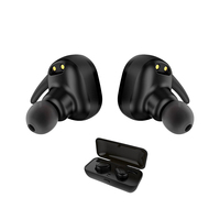New Style Mini Wireless Headphones Bluetooth Earbuds Headset Sweat Proof TWINS Earphone With Charging Box For