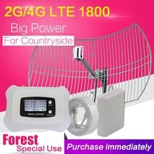 ل ريف DCS 1800 موبايل مكرر إشارة الهاتف شاشة الكريستال السائل 4G LTE 1800mhz الهاتف المحمول الخلوية الداعم مكبر للصوت هوائي