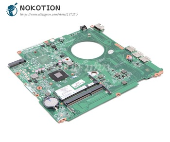 NOKOTION For HP pavilion 17-F Laptop Motherboard 809987-501 809987-001 812903-501 DAY22AMB6E0 Main Board with Processor onboard