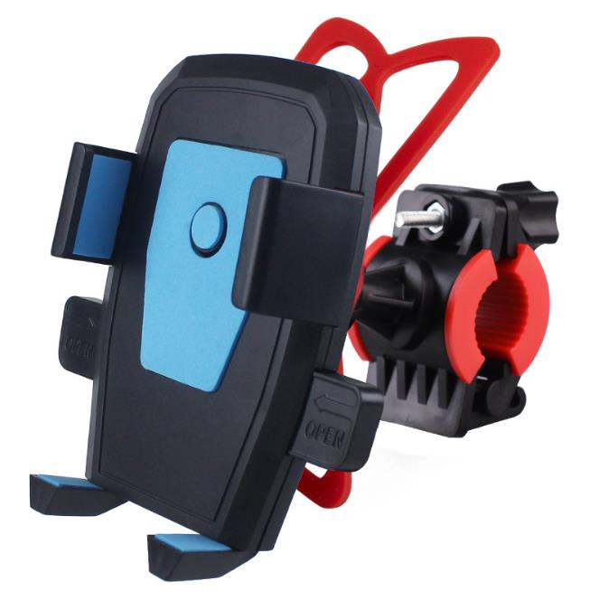FGHGF Bicycle Accessaries Bike Mobile Phone Holder for iPhone 7 plus 8 X 6S 6 5S Handlebar Clip Bracket GPS Phone Mount Աջակցություն