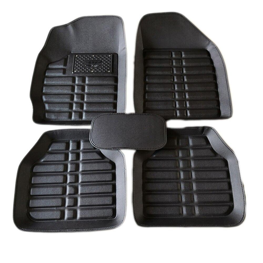 5 pièces tapis de sol de voiture tapis de voiture tapis pour la voiture lecteur universel auto intérieur accessoires voiture fournitures auto tapis de sol