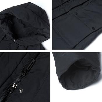 ICEbear 2019 New Winter Hooded Jacket Women's Coat Fashion Female Jacket Warm Winter women's Parkas Plus Size Clothing GWD19078I 5