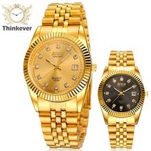 GW1185 BOSCK Lujo Calendario Impermeable de Los Hombres de Negocios de Acero Inoxidable Reloj de pulsera de Cuarzo Casual Relojes Deportivos Relogio masculino