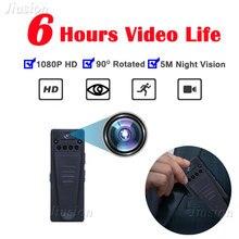 6 Luzes de Visão Noturna 1080 P HD Mini Câmera Webcam Em Movimento detecção Wide Angle Video Audio Recorder Car Ação Esporte Micro Cam