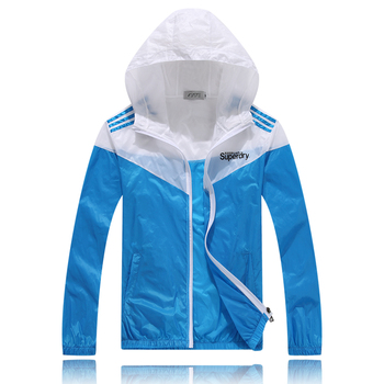 Colorful Sweethearts Outdoors Travel UV Coat Spring and Summer Thin Sun Protective Clothing Unisex Women Men 5 Colors 4